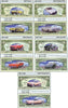 Image of Classic Cars Complete Set (5 Different Bills Per Set)