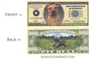 Image of Pitbull Dog Novelty Currency Bill