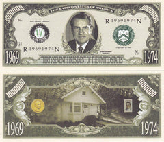 Richard Nixon - 37th President Of The United States Bill