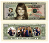 Image of First Lady Melania Trump And Trump Family Novelty Currency Bill