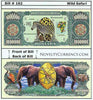 Image of Wild Safari Novelty Currency Bill
