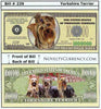 Image of Yorkshire Terrier Novelty Currency Bill