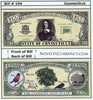 Image of Connecticut - The Constitution State - Commemorative Bill