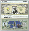 Image of Alaska - The Last Frontier - Commemorative Novelty Currency Bill