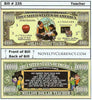 Image of Teacher - World's Greatest Teacher Novelty Currency Bill