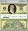 Image of $100 Funny Money Novelty Currency Bill