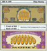 Image of Play Money Novelty Currency Bill