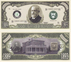 Benjamin Harrison - 23rd President Of The United States Bill