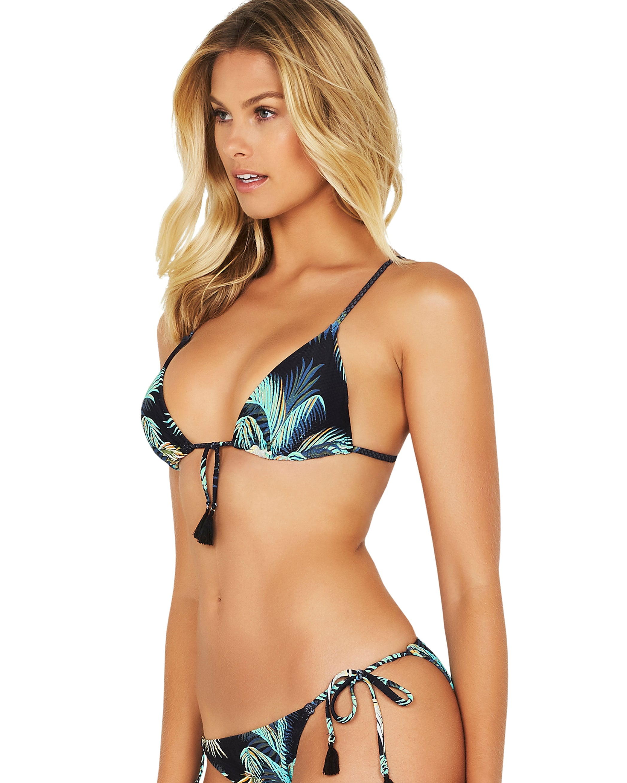 BARBADOS SLIDE TRIANGLE BIKINI TOP