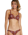 HACIENDA A/B MOULDED BOOSTER BRA BIKINI TOP