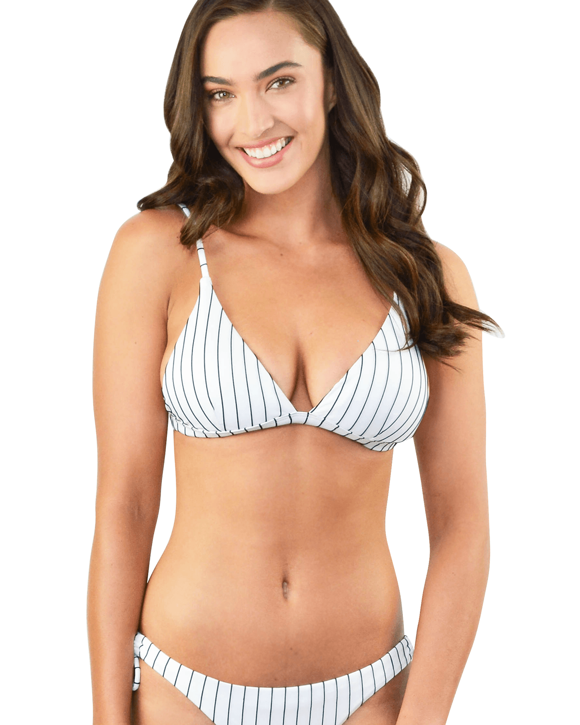 COASTLINE FIXED LONGLINE TRIANGLE BIKINI TOP