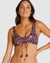 NUSA DUA LACE UP BRA BIKINI TOP