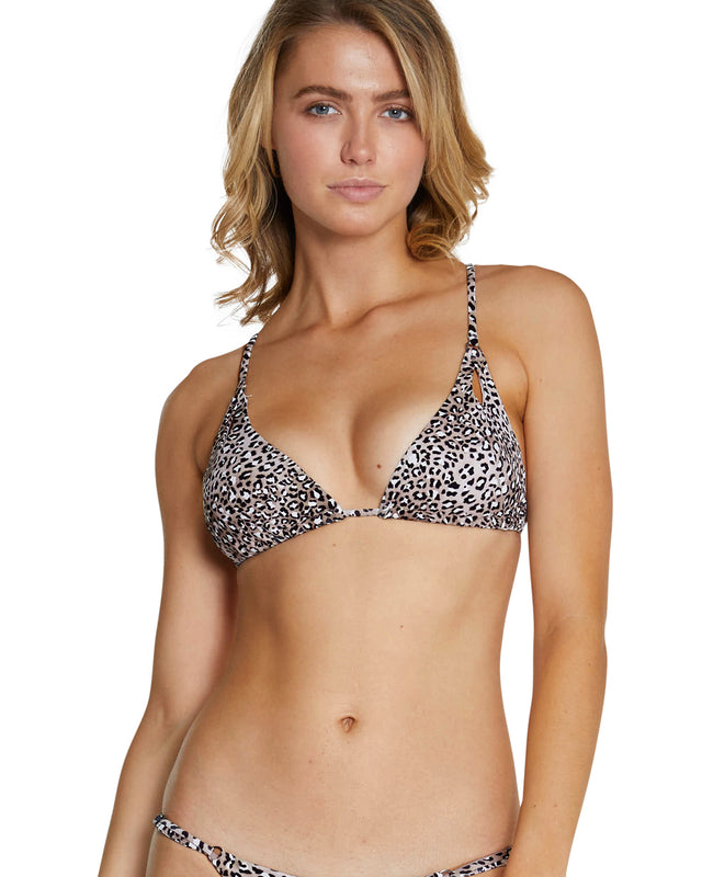 KAMALA CUT OUT TRI BRA BIKINI TOP