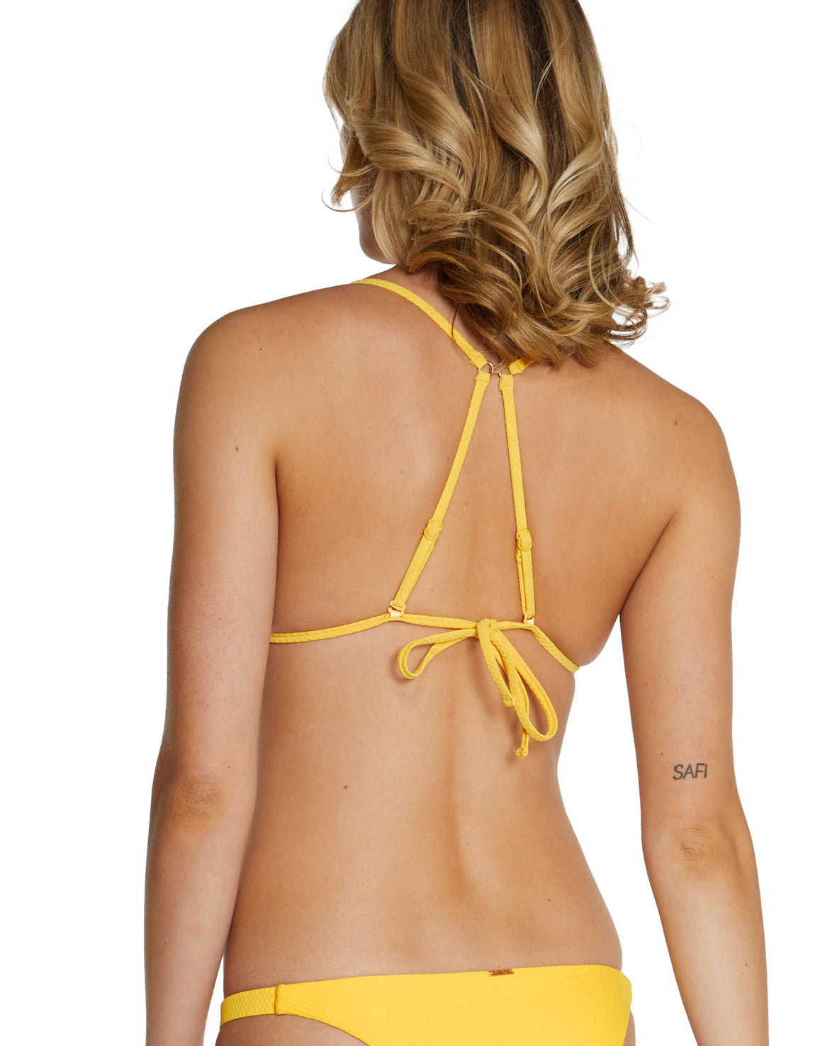 ROCOCCO LONGLINE SLIDE TRIANGLE BIKINI TOP