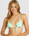 SEVILLE SLIDE TRIANGLE BIKINI TOP