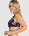 ULUWATU E-F LACE UP BRA BIKINI TOP