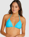 RIBTIDE SLIDE TRIANGLE BIKINI TOP