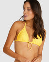 ROCOCCO SLIDE TRIANGLE BIKINI TOP