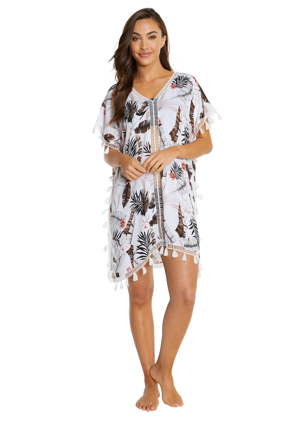 KOKOMO LADDER LACE KAFTAN
