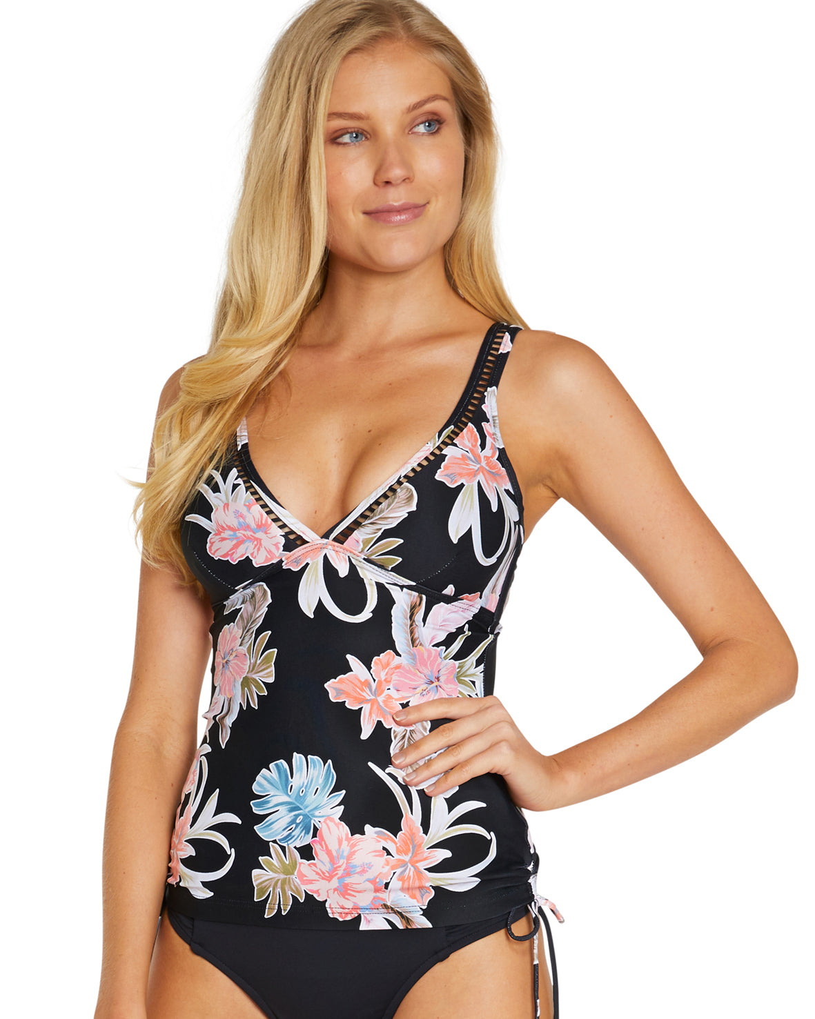 SOUTH PACIFIC LONGLINE SINGLET TOP