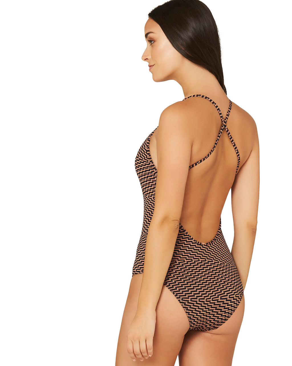 MONTE CARLO PLUNGE ONE PIECE SWIMSUIT