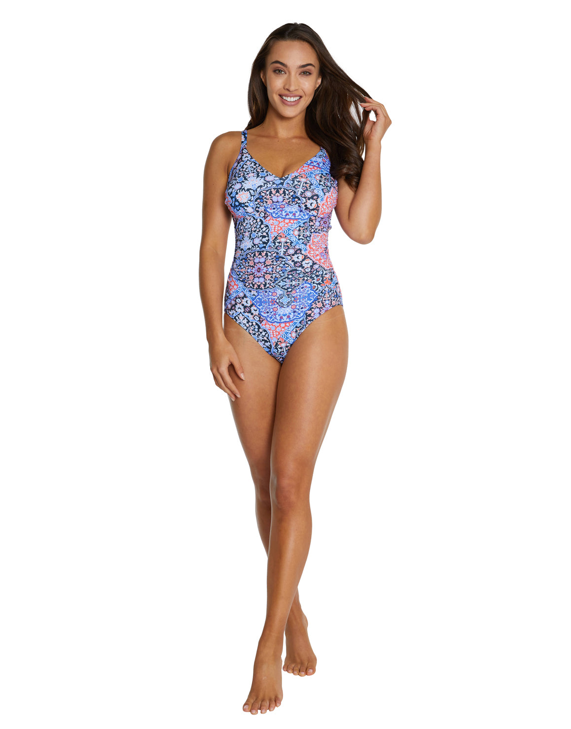 GALAPAGOS D-E CUP UNDERWIRE ONE PIECE SWIMSUIT