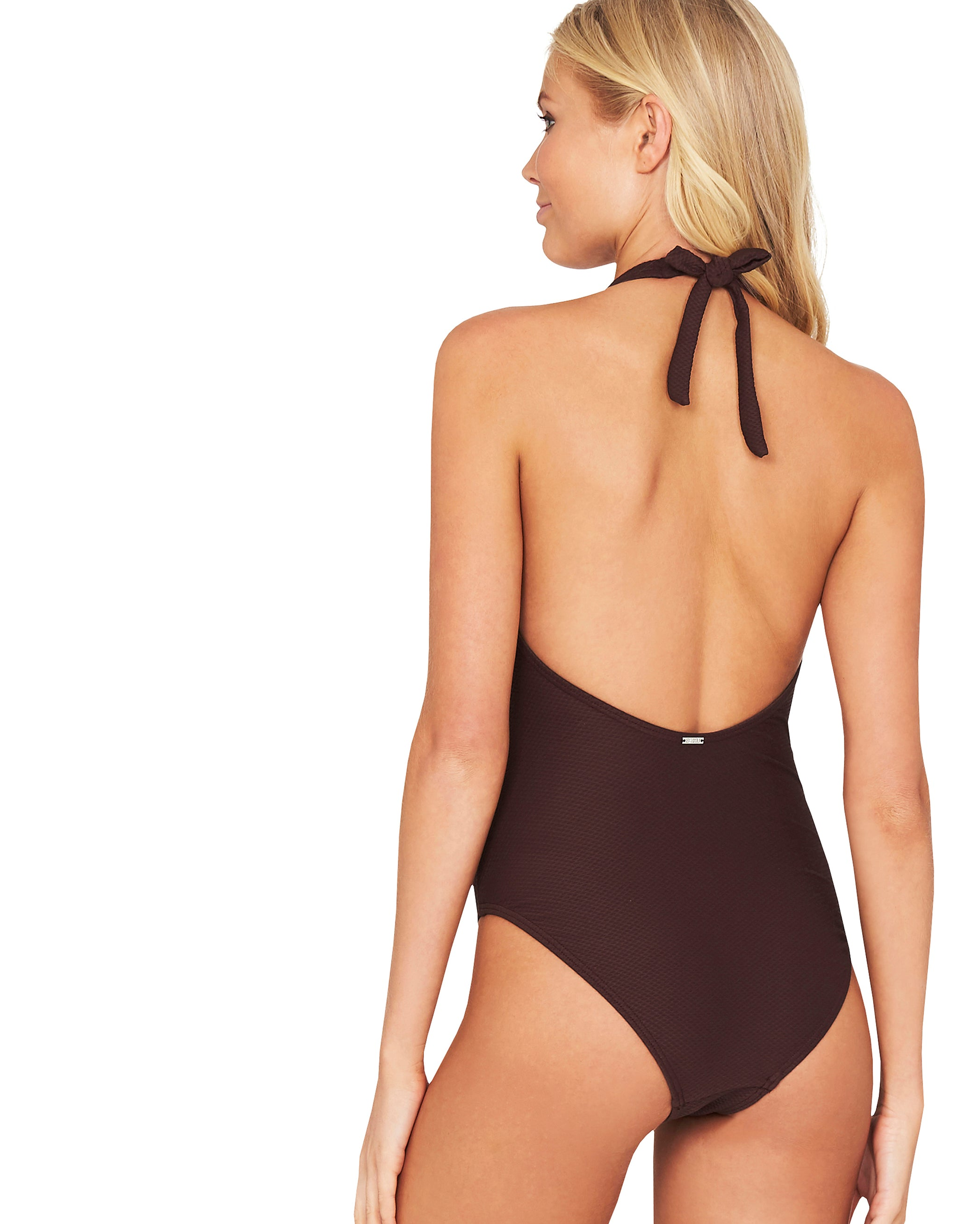 ROCOCCO HALTER ONE PIECE SWIMSUIT