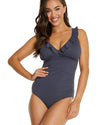 ECO ESSENTIALS DD/E FRILL UNDERWIRE ONE PIECE SWIMSUIT
