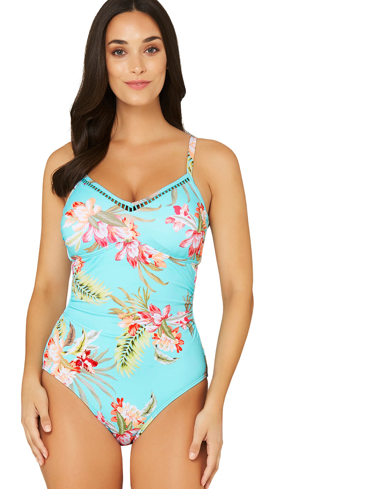 VANUATU D-E UNDERWIRE ONE PIECE SWIMSUIT