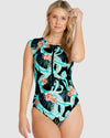 CURACAO CAP SLEEVE SURF SUIT