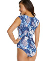 KOKOMO CAP SLEEVE SURF SUIT