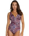 GALAPAGOS E/F CUP LONGLINE ONE PIECE SWIMSUIT