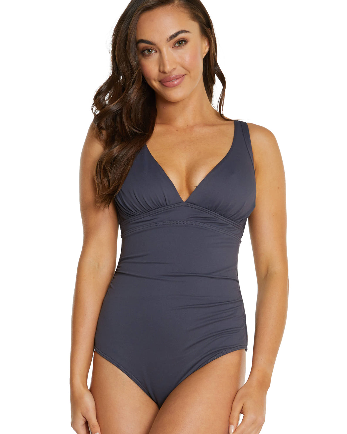 ECO ESSENTIALS E/F CUP LONGLINE ONE PIECE SWIMSUIT