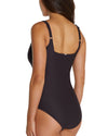 ROCOCCO D-E UNDERWIRE SQUARE ONE PIECE SWIMWEAR