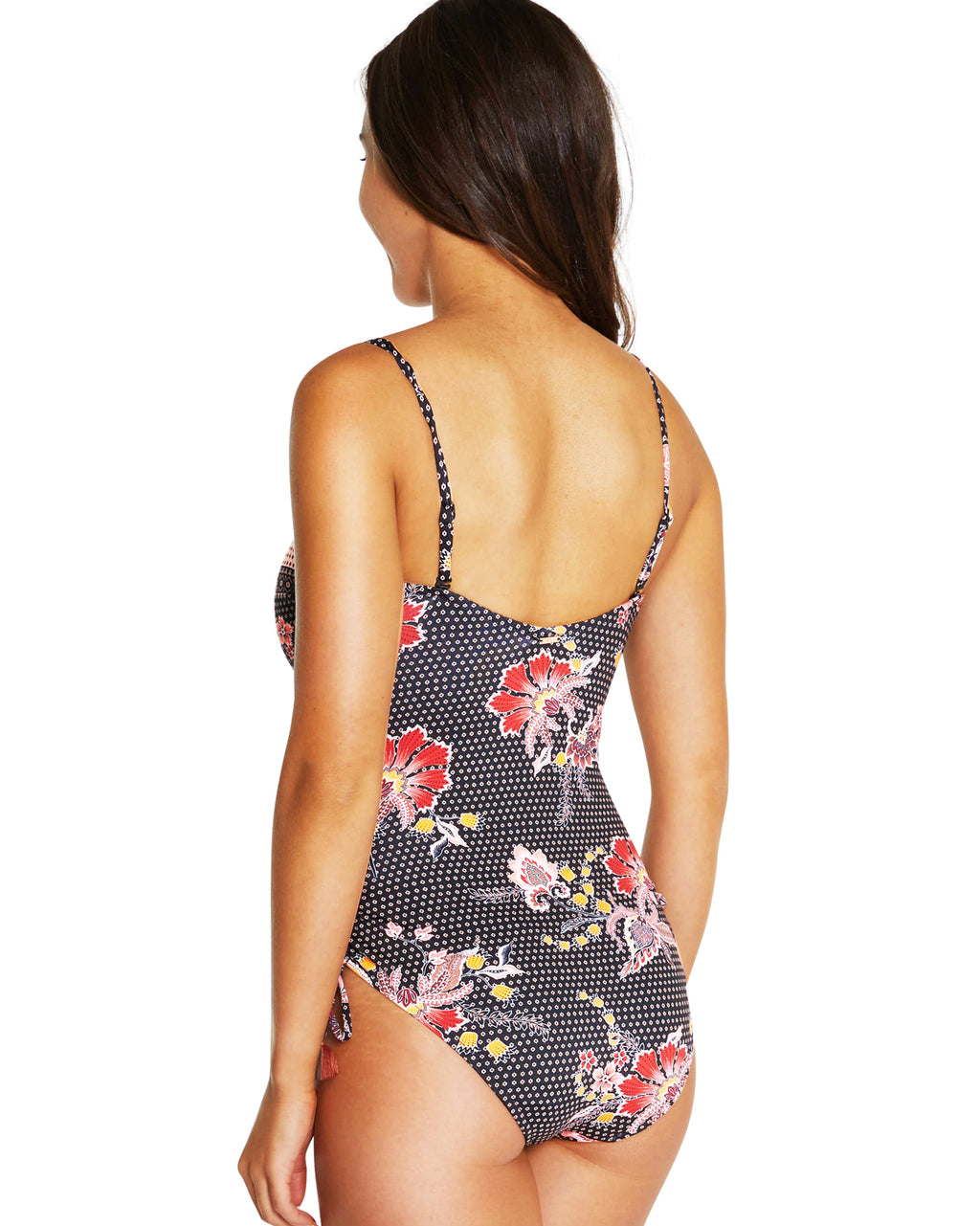 GILI ISLAND BANDEAU ONE PIECE SWIMSUIT