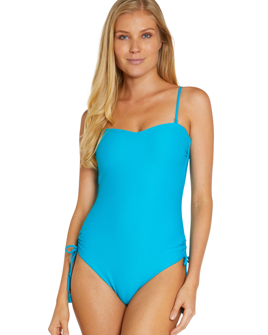 e0318f1ee8f2b ROCOCCO MOULDED BANDEAU ONE PIECE SWIMSUIT