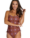 HACIENDA MOULDED BANDEAU ONE PIECE SWIMSUIT