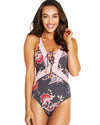 GILI ISLANDS PLUNGE ONE PIECE SWIMSUIT