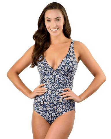 INDOCHINE LONGLINE ONE PIECE SWIMSUIT