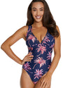 TAHITI E/F LONGLINE ONE PIECE SWIMSUIT