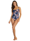 DOMINICA C/DD BANDEAU ONE PIECE SWIMWEAR