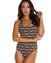 ITHACA RING BACK ONE PIECE SWIMSUIT