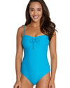 ROCOCCO BANDEAU ONE PIECE SWIMSUIT