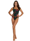 SOMERSET WIDE STRAP ONE PIECE SWIMSUIT
