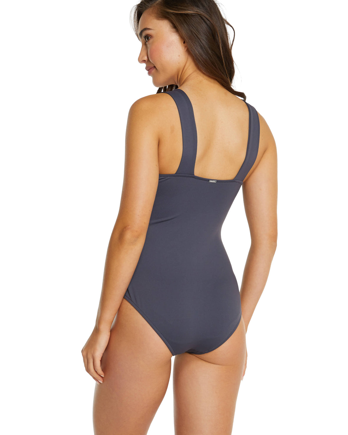 ECO ESSENTIALS WIDE STRAP ONE PIECE SWIMSUIT