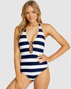 SIROCCO RING FRONT HALTER ONE PIECE