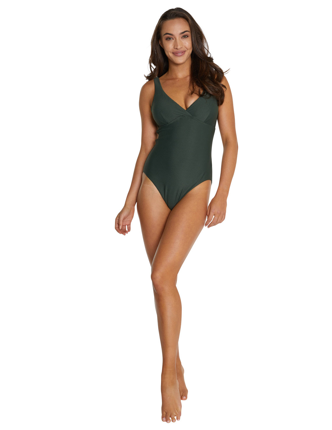 ROCOCCO D-E LONGLINE ONE PIECE SWIMSUIT