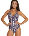 GONDWANA D/DD HALTER ONE PIECE SWIMSUIT