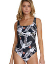 KOKOMO SQUARE NECK ONE PIECE SWIMSUIT