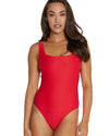 ROCOCCO SQUARE NECK ONE PIECE SWIMSUIT